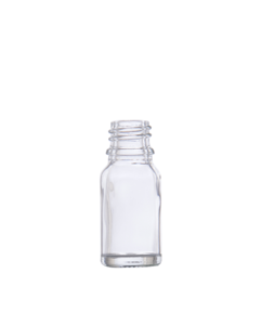 Bottle 10 ml, Glass, DIN 18