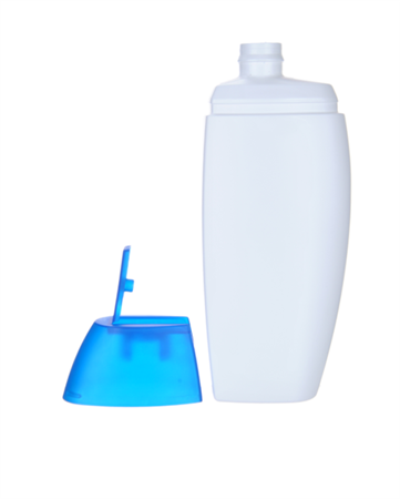 Bottle 200 ml, HDPE, Flip-top cap