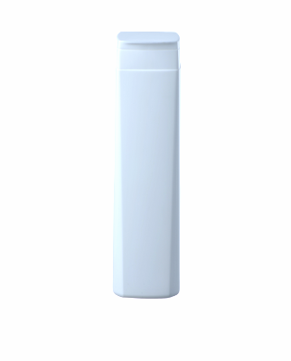 Bottle 250 ml, HDPE, flip-top cap