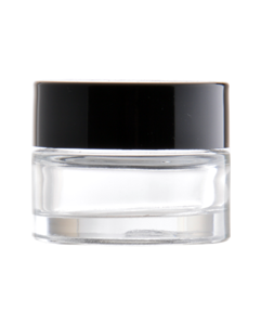 Jar  15 ml, glass, Lid PP
