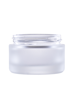 Jar  50 ml, glass, Lid PP
