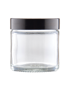 Jar 60 ml Glass Lid UREA